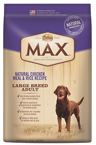 Nutro Max Large Breed Adult Dog Food 15lb