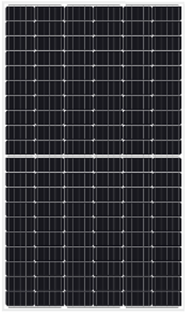 half cell_residential solar panel_UD-HH2