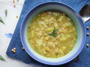 aromatische Sellerie-Kartoffel-Suppe