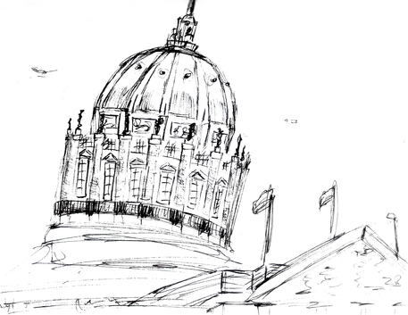 Sketch exterior DOME.png