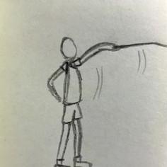 Badminton Serve