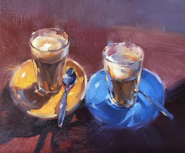 Afternoon latte