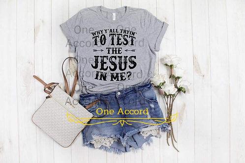 Test the Jesus