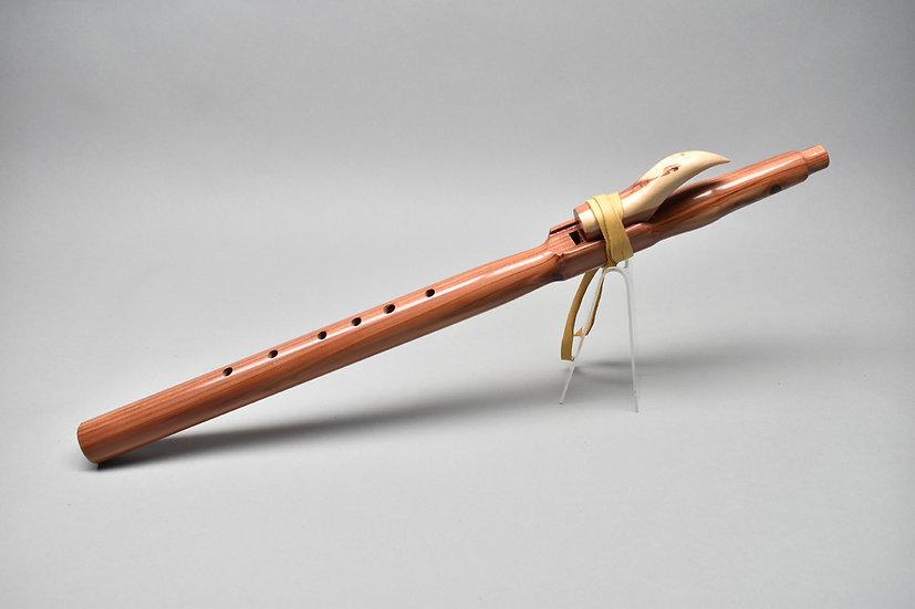 Cedar Native American style flute Key Am