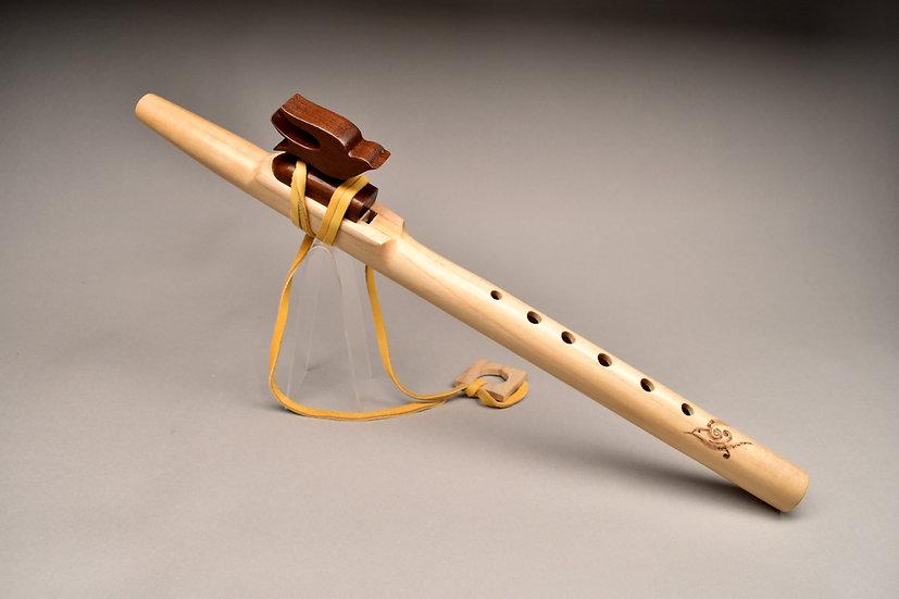 Native American style flute Key Bm