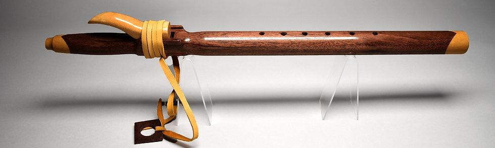 Native American style flute Key F#