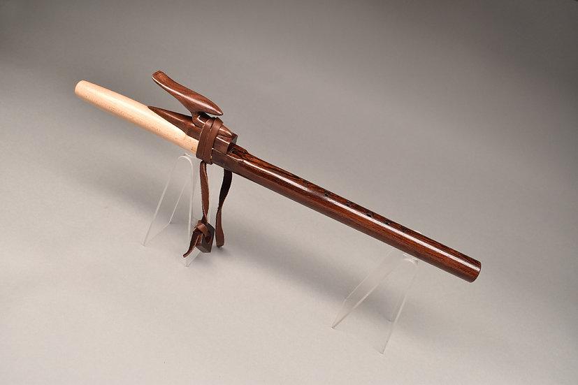 Rosewood Native American style flute Key Em5