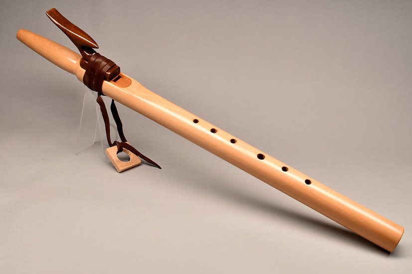 Cypress Native American style flute Key F# at 432hz