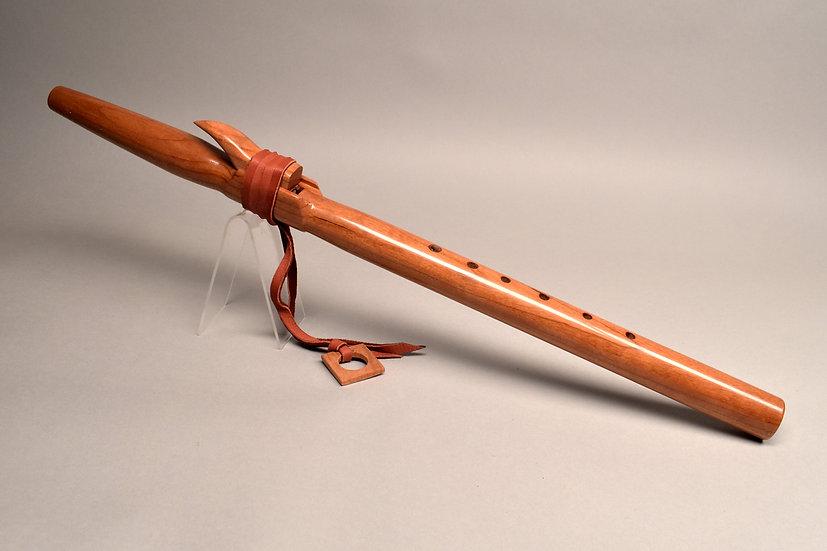 Cherry Native American style flute Key Am