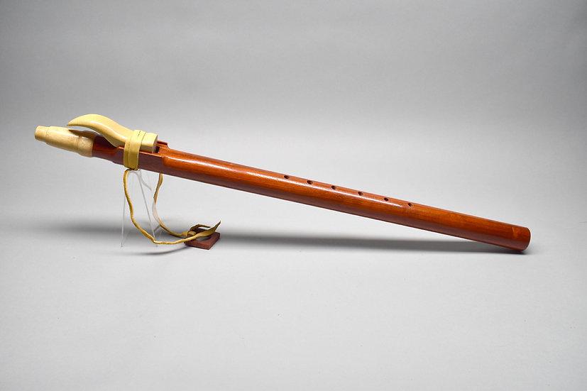 Padauk Native American style flute  Key Dm4