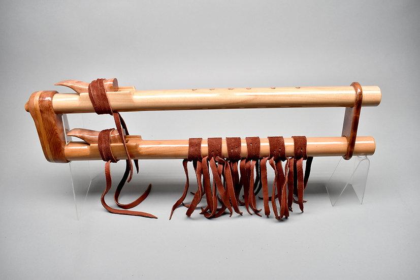 Cypress drone Native American style flute Key G