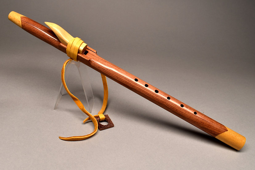 Rosewood Native American style flute  Key Cm5