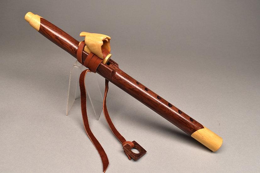 Rosewood Alto Native American flute - Key F5