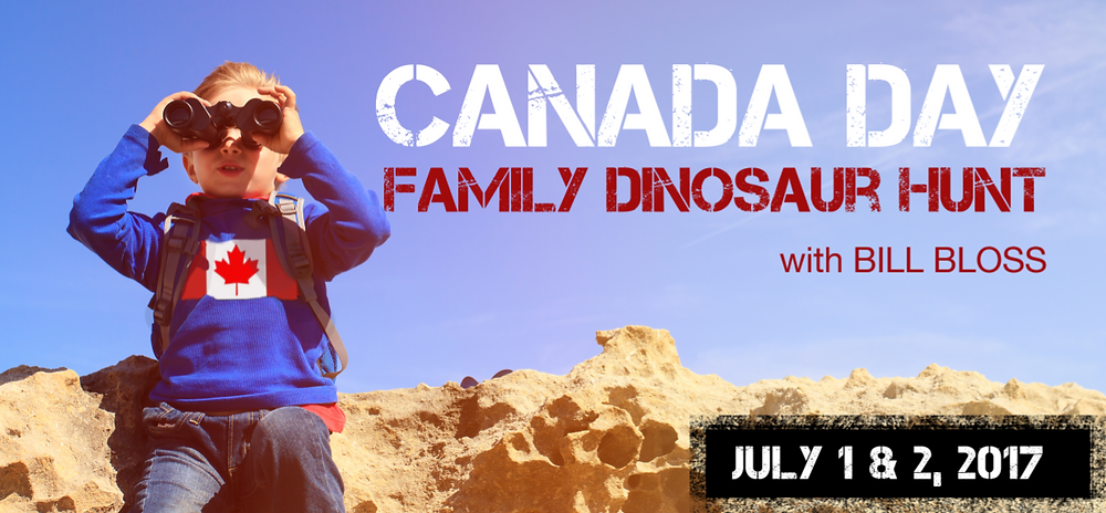 Canada Day Family Dinosaur Hunt