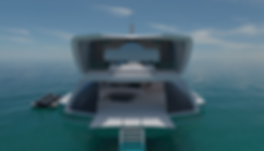 Inception superyacht concept by Isaac Burrough Design
