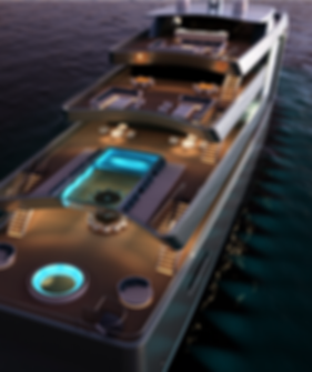 100 metre motor yacht concept by Isaac Burrough Design