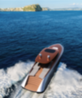 22 metre motor yacht concept by Isaac Burrough Design