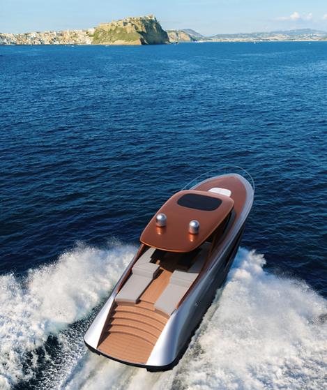 22 metre motor yacht concept by Isaac Burrough Design