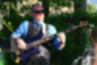 Brian Easly Bass player for Uptownphunkband