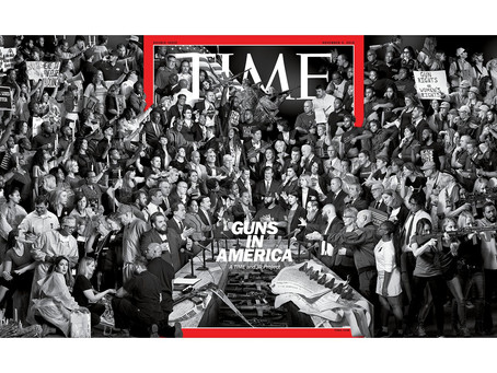 When your client graces the cover of TIME Magazine...