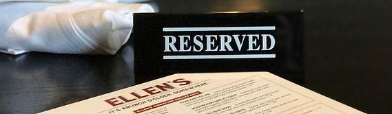 Reservations at Ellen's