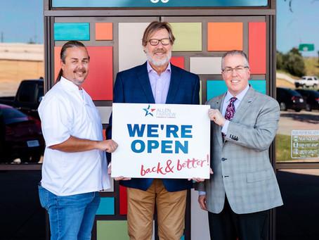 Ellen's In Allen is OPEN OPEN OPEN