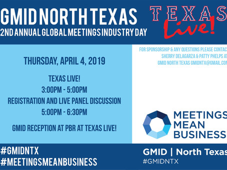 Global Meetings Industry Day is April 4th!