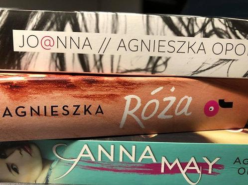 Trzy książki (Anna May, Róża, Jo@nna)