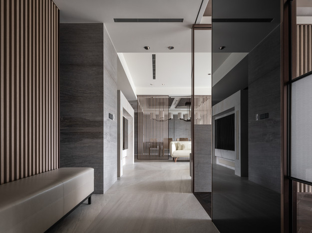 Residential Project by 輯門設計