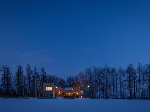 The Biei Cottage.