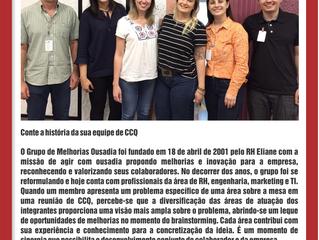 Depoimento do Grupo de Melhorias Ousadia da Empresa Eliane