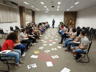 Treinamento de Comunicação e Oratória do Programa de Novas Ideias do Grupo Lunelli - SC