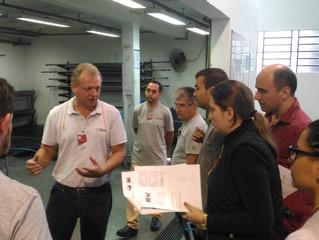 Avaliação Prêmio Catarinense CCQ na empresa Grupo Lunelli