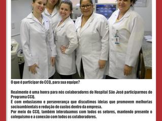 Depoimento da equipe Idealize do Hospital São José
