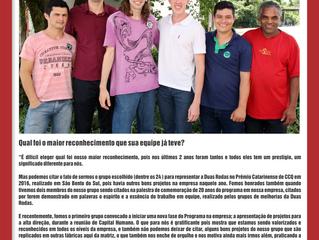 Depoimento do Grupo GM Destilando Melhorias da empresa Duas Rodas