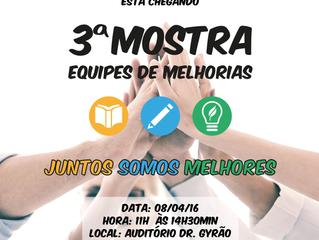 Hospital São José promove terceira mostra de Equipes de Melhorias