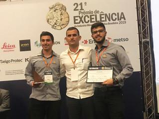 Rio Deserto recebe Prêmio de Excelência da Indústria Minero-Metalúrgica Brasileira