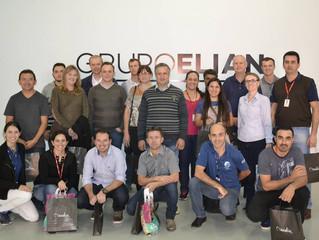 Empresa Condor visita Grupo Elian