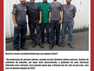 Depoimento dos colaboradores da empresa Sical