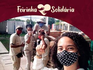 Eliane: Feirinha Solidária: Quase 4 mil quilos de alimentos foram doados
