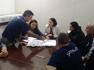Visita da avaliação do 5º Prêmio Catarinense de CCQ- Coteminas