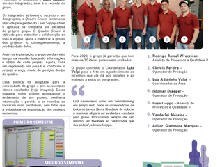 Grupo de Melhorias Duas Rodas em destaque na Revista Mix