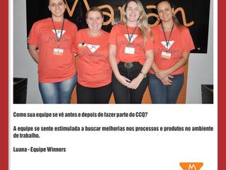 Depoimento da Equipe Winners da empresa Marlan Malhas