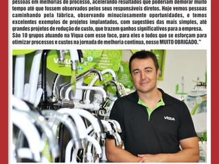 Depoimento do Presidente Daniel Alberto Cardozo Junior da empresa Víqua