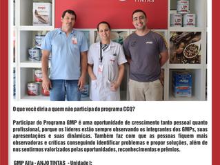 Depoimento do Grupo GMP Alfa da empresa Anjo Tintas