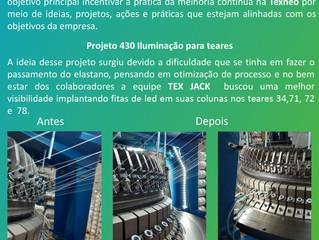 GMC Texneo e a implantação do projeto 430 - Iluminação para teares
