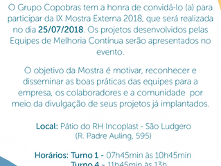 Convite Mostra Externa - Copobras