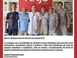 Depoimento da Equipe Formulando Ideais da empresa Anjo Tintas
