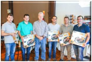Premiação do Programa Grupos de Melhorias Duas Rodas referente ao ano de 2017