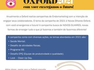 Novos olhares Oxford 2021